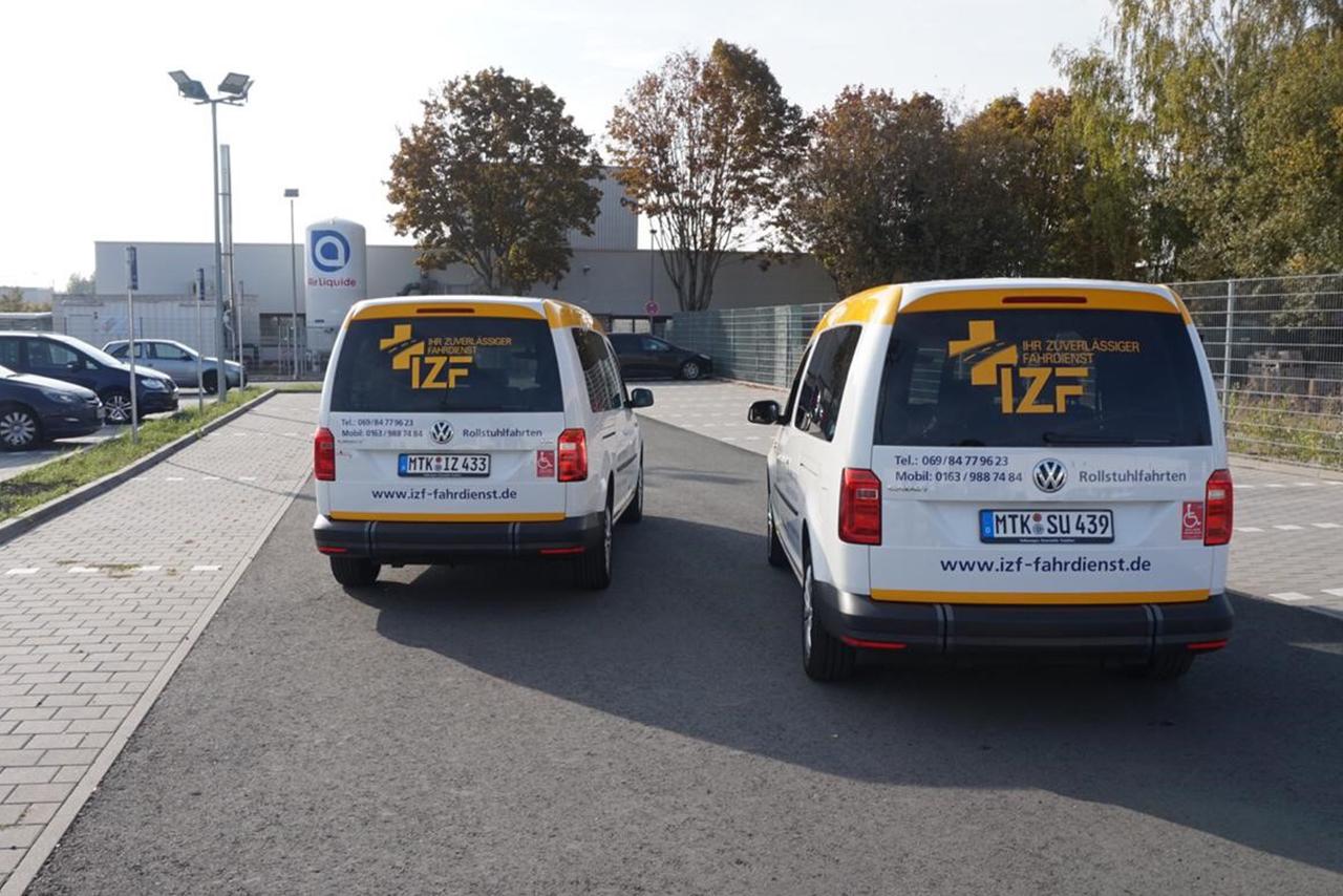 IZF Krankenfahrdienst Fahrzeug 33